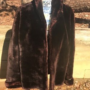 Jackets & Blazers - Awesome Mouton Fur Coat 💕❤️ Check out Pic